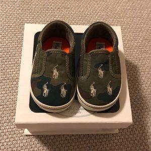 Ralph Lauren Layette Baby Boy Shoes
